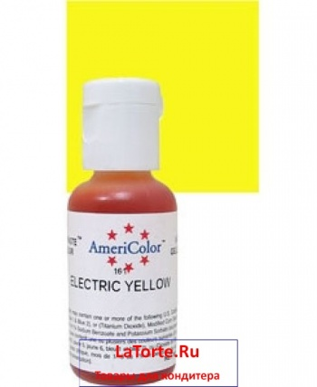 AmeriColor Electric Yellow